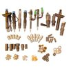 Nozzles, nozzle holders, injectors and accessories